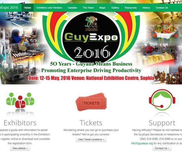 GuyExpo Website Development
