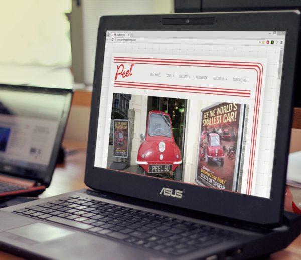 Peel Engineering Website Design and Development