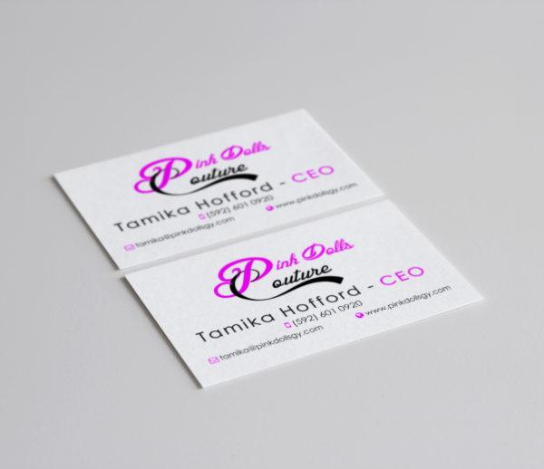 PinkDolls Couture Branding
