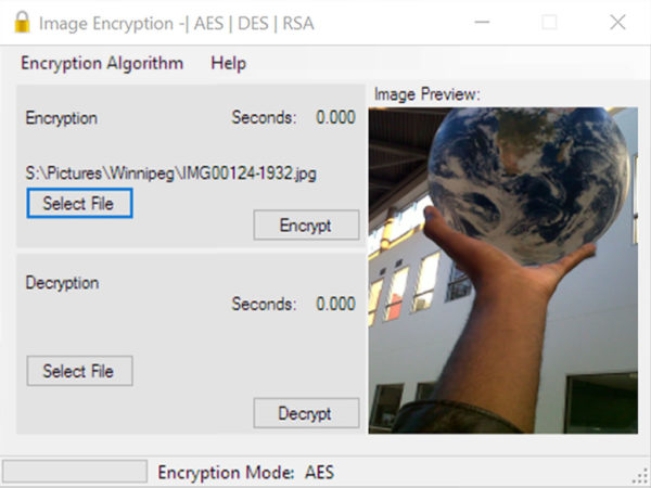 Photo Encryption Software