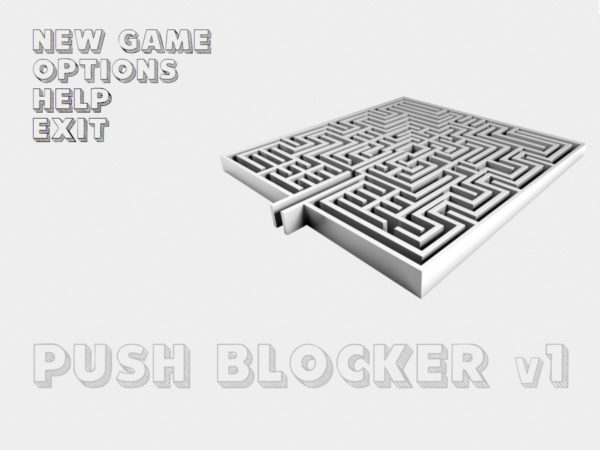 Push Blocker Game